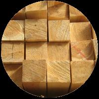 Деревянный брус для теплицы